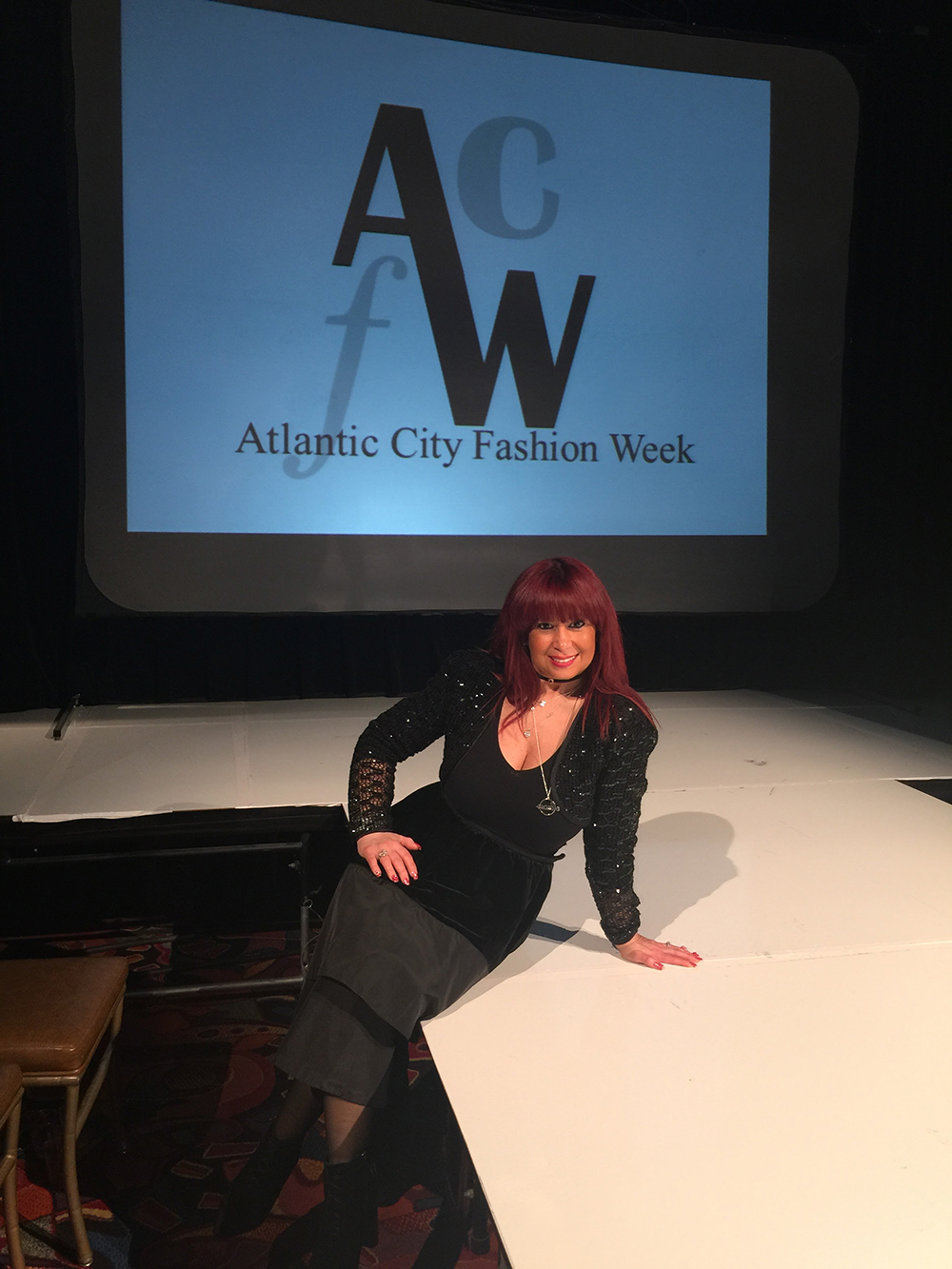 Myra Mrowicki at Atlantic City Fashion Week (ACFW)